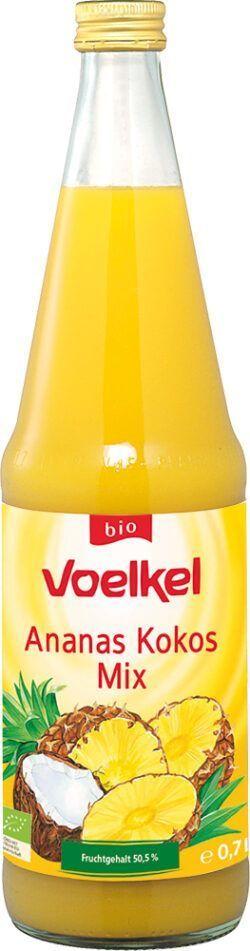 Voelkel Ananas Kokos Mix Fruchtgehalt 50,5% 0,7l