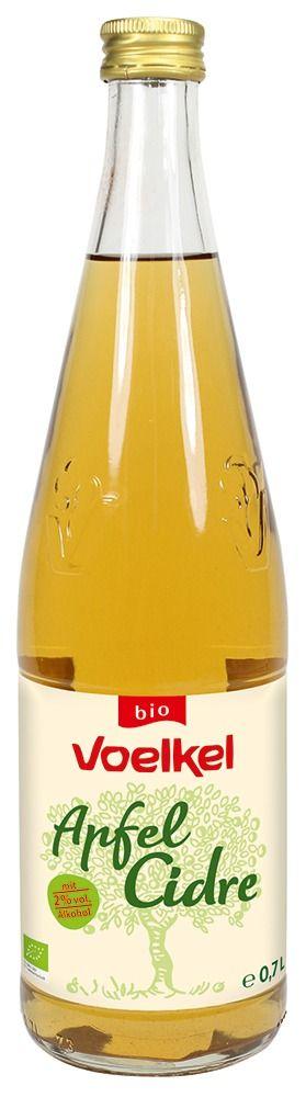 Voelkel Apfel Cidre - mit 2% vol. Alkohol 6x0,7l