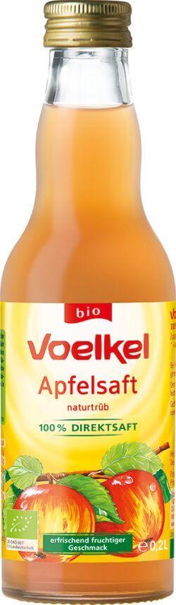 Voelkel Apfelsaft - naturtrüb 100% Direktsaft 0,2l
