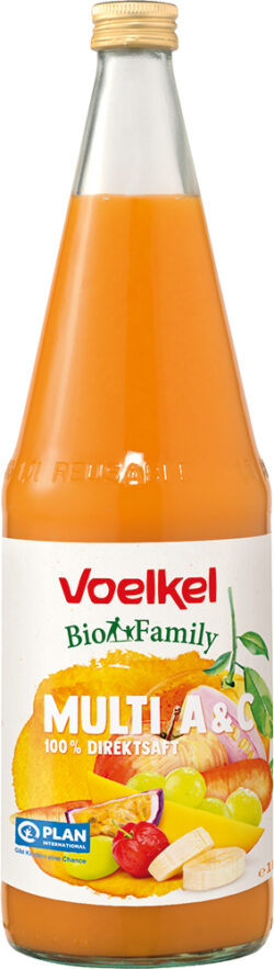 Voelkel BioFamily Multi A & C 100% Direktsaft 6x1l