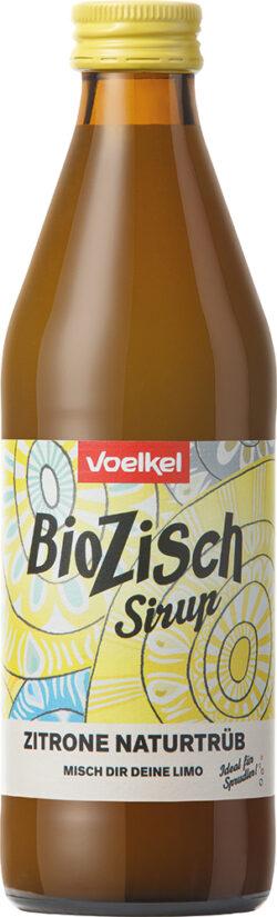 Voelkel BioZisch Sirup Zitrone naturtrüb 10x0,33l