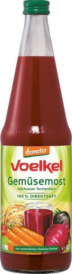Voelkel Gemüsemost milchsauer fermentiert 100% DIREKTSAFT 6x0,7l