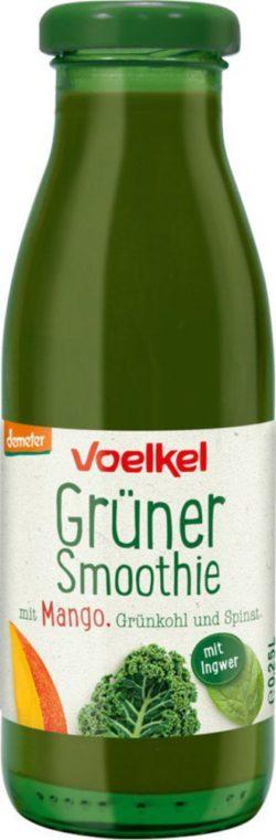 Voelkel Grüner Smoothie mit Mango Grünkohl Spinat 6x0,25l