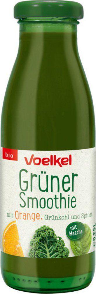 Voelkel Grüner Smoothie mit Orange Grünkohl Spinat 6x0,25l