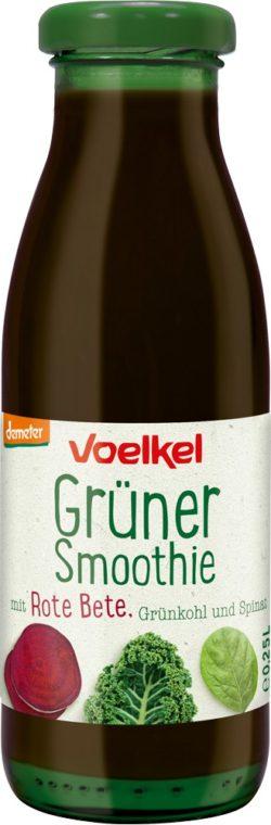 Voelkel Grüner Smoothie mit Rote Bete Grünkohl S pinat 6x0,25l