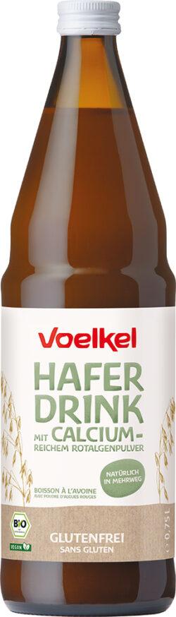 Voelkel Hafer Drink mit calciumreichem Rotalgenpulver 6x0,75l