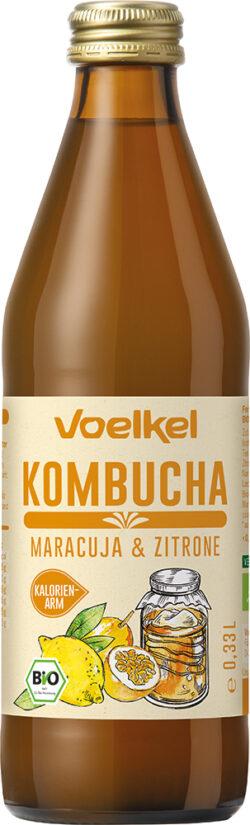 Voelkel Kombucha Maracuja & Zitrone 10x0,33l