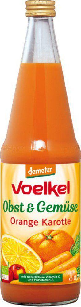 Voelkel Orange Möhre - 100% Direktsaft 6x0,7l