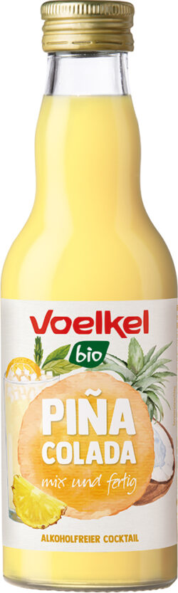 Voelkel Piña Colada, alkoholfreier Cocktail 0,2l