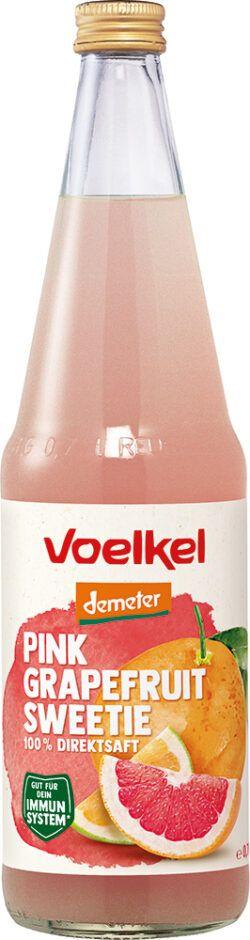 Voelkel Pink Grapefruit Sweetie 100% Direktsaft 6x0,7l