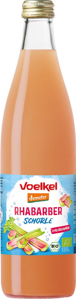 Voelkel Rhabarber Schorle 0,5l