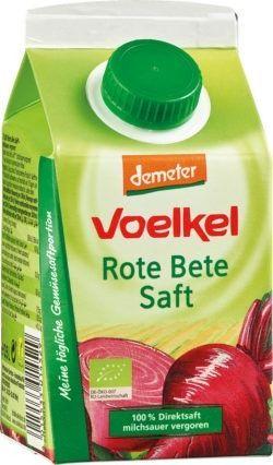 Voelkel Rote Bete Saft - 100% Direktsaft, milchsauer vergoren 6x0,5l