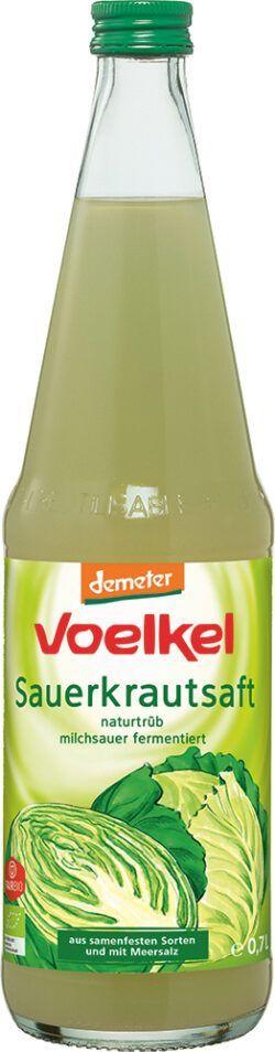 Voelkel Sauerkraut Milchsauer fermentiert 0,7l