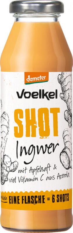 Voelkel Shot Ingwer 0,28l