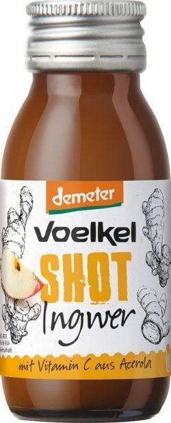 Voelkel Shot Ingwer 60ml