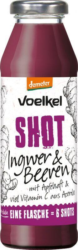 Voelkel Shot Ingwer & Beeren mit Vitamin C aus Acerola 0,28l