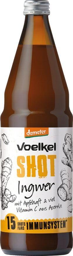 Voelkel Shot Ingwer mit Apfelsaft und viel Vitamin C aus Acerola 0,75l