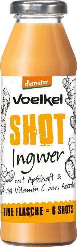 Voelkel Shot Ingwer 6x0,28l