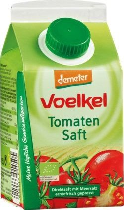 Voelkel Tomatensaft - 100% Direktsaft, ernefrisch gepresst 6x0,5l