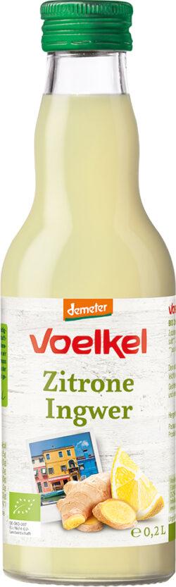 Voelkel Zitrone Ingwer 0,2l