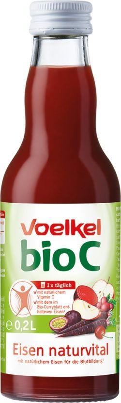 Voelkel bioC Eisen naturvital 12x0,2l