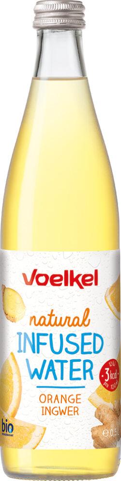Voelkel natural Infused Water Orange Ingwer 10x0,5l