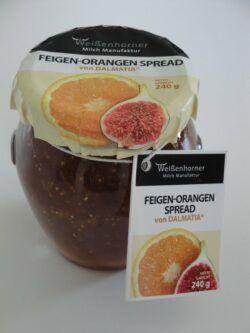 Weißenhorner Milch Manufaktur Weißenhorner Biologische Feigen-OrangenSpread 6x240g
