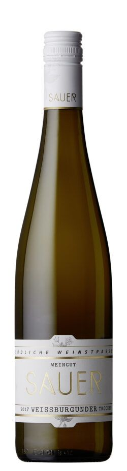Weingut Sauer Weißburgunder Gutswein 0,75l