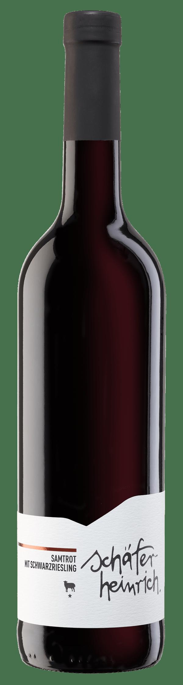 Weingut Schäfer-Heinrich 2018 Samtrot mit Schwarzriesling Heilbronner Staufenberg 6x750ml
