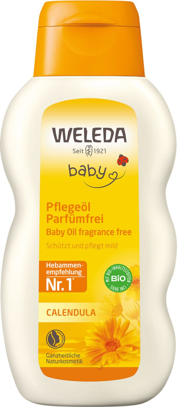 Weleda Calendula Pflegeöl Parfümfrei 200ml