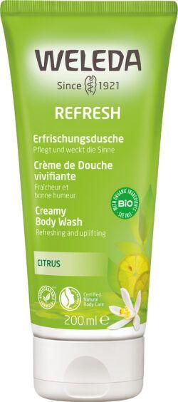 Weleda Refresh - Erfrischungsdusche Citrus 200ml