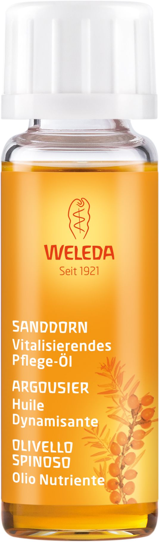 Weleda Sanddorn Vitalisierendes Pflege-Öl 10ml