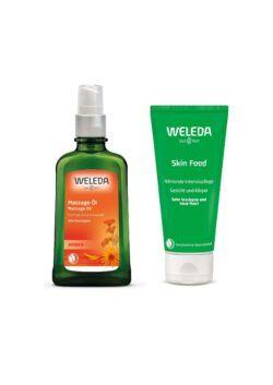 Weleda Warenpaket Körperöle & Skin Food 2021 1Stück