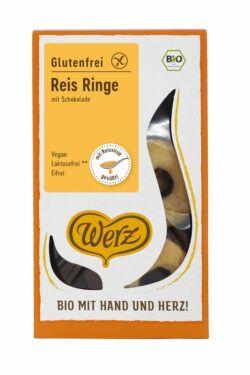 Werz Reis Ringe mit Schokolade, Vollkornkekse, glutenfrei 125g