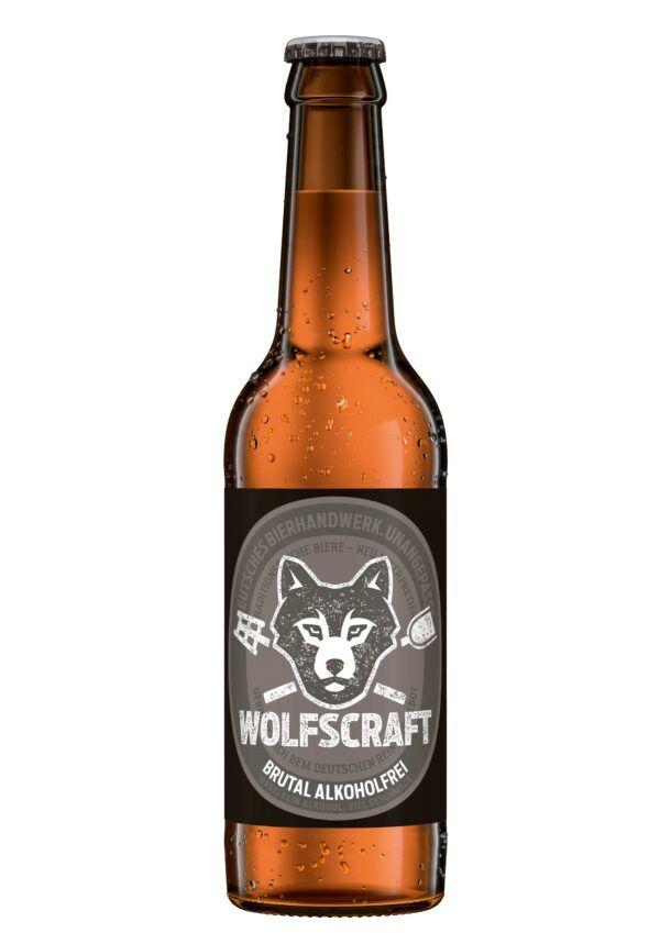 Wolfscraft Brutal alkoholfrei BIO 24x0,33l