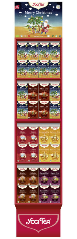 YOGI TEA ® Christmas Mix Display 64Stück