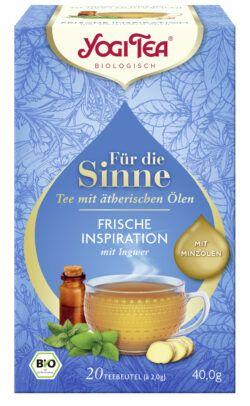YOGI TEA ® Für die Sinne Frische Inspiration (ehem. Pure Erfrischung) 6x40g