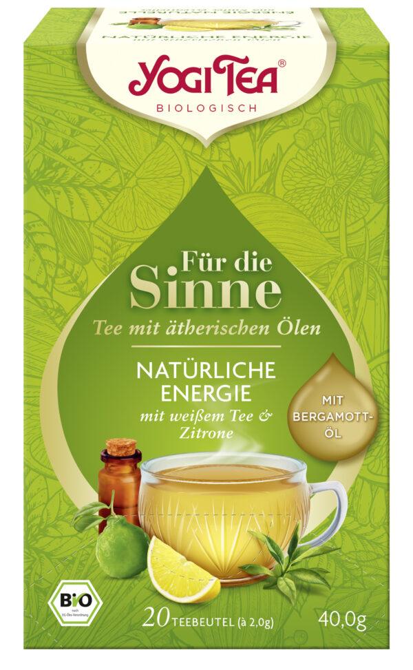 YOGI TEA ® Für die Sinne Natürliche Energie 6x40g