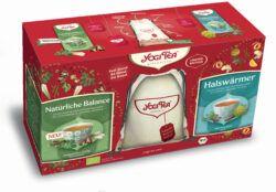 YOGI TEA ® Geschenkset mit Jute-Rucksack 2Stück