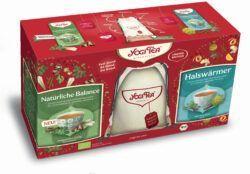 YOGI TEA ® Geschenkset mit Jute-Rucksack 6x2Stück