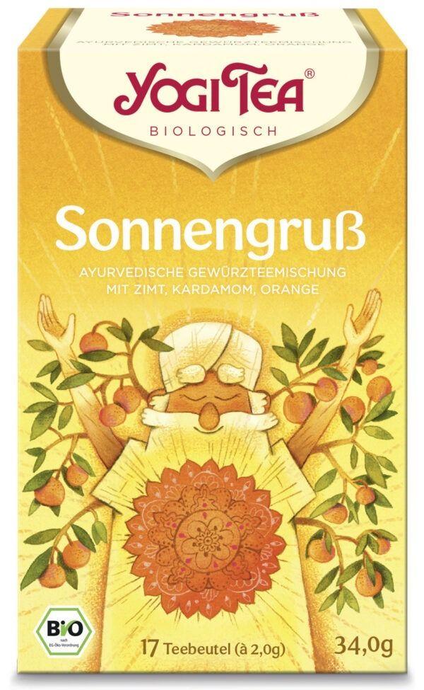 YOGI TEA ® Sonnengruß Bio 6x34g