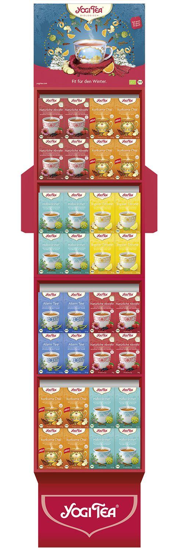 YOGI TEA ® Winter Fit Display 64Stück