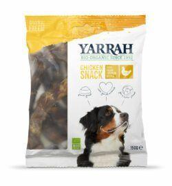 Yarrah Organic Petfood B.V. Bio Hühnerhälse (Chicken Snack) 10x150g