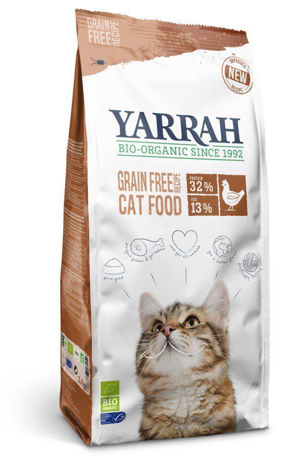 Yarrah Organic Petfood B.V. Bio Katzentrockenfutter ´Grain Free´ 6x800g
