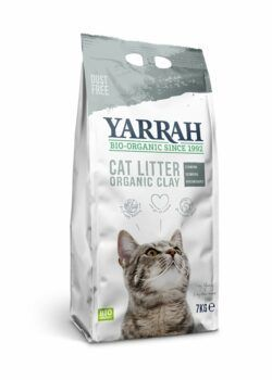 Yarrah Organic Petfood B.V. Bio Klumpenbildende Katzenstreu 7kg