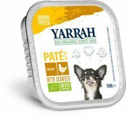 Yarrah Organic Petfood B.V. Bio Paté Huhn mit Meeresalgen 12x150g