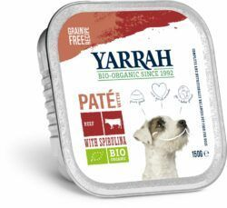Yarrah Organic Petfood B.V. Bio Paté Rind und Huhn mit Spirulina 12x150g
