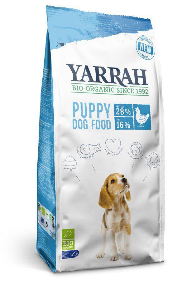 Yarrah Bio Trockenfutter für Welpen 4x2kg
