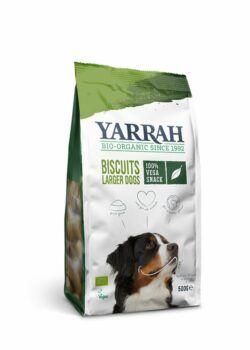 Yarrah Organic Petfood B.V. Bio vega Hundekekse 4x500g