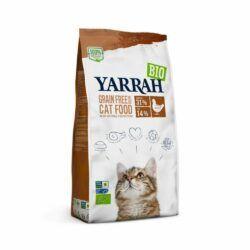 Yarrah Organic Petfood B.V. Bio Katze Trockenfutter getreidefrei Huhn & Fisch (MSC) – auch für Kätzchen 6x800g